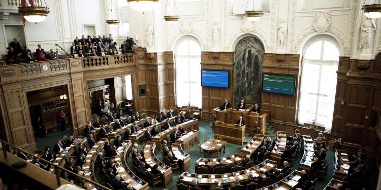 The Danish Parliament -Folketinget -resides at Christiansborg castle. Picture: Anders Hviid/Folketinget