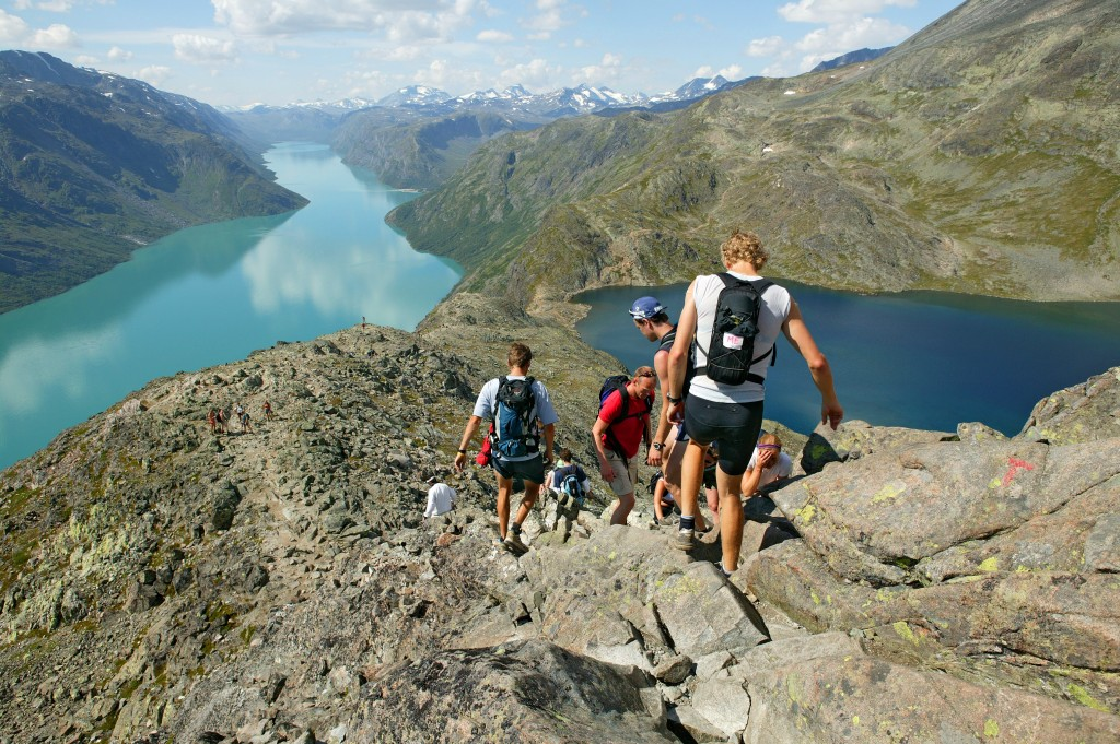 Challenge your sense of adventure when hiking in Jotunheimen National park