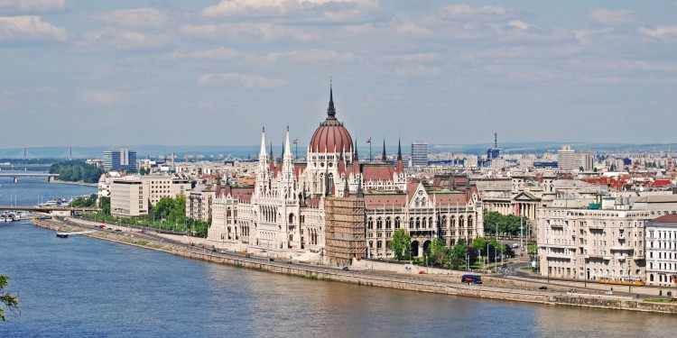 Budapest Parliament right on the Danube river. Picture: Dimitris Xygalatas