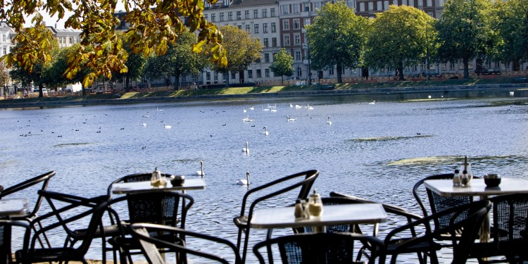 The lakes of Copenhagen,  ideal for cycling. Picture: Copenhagen  Media Center