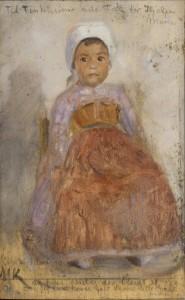 Marie Krøyer Portrait of an Italian girl (1890) Skagens Museum.