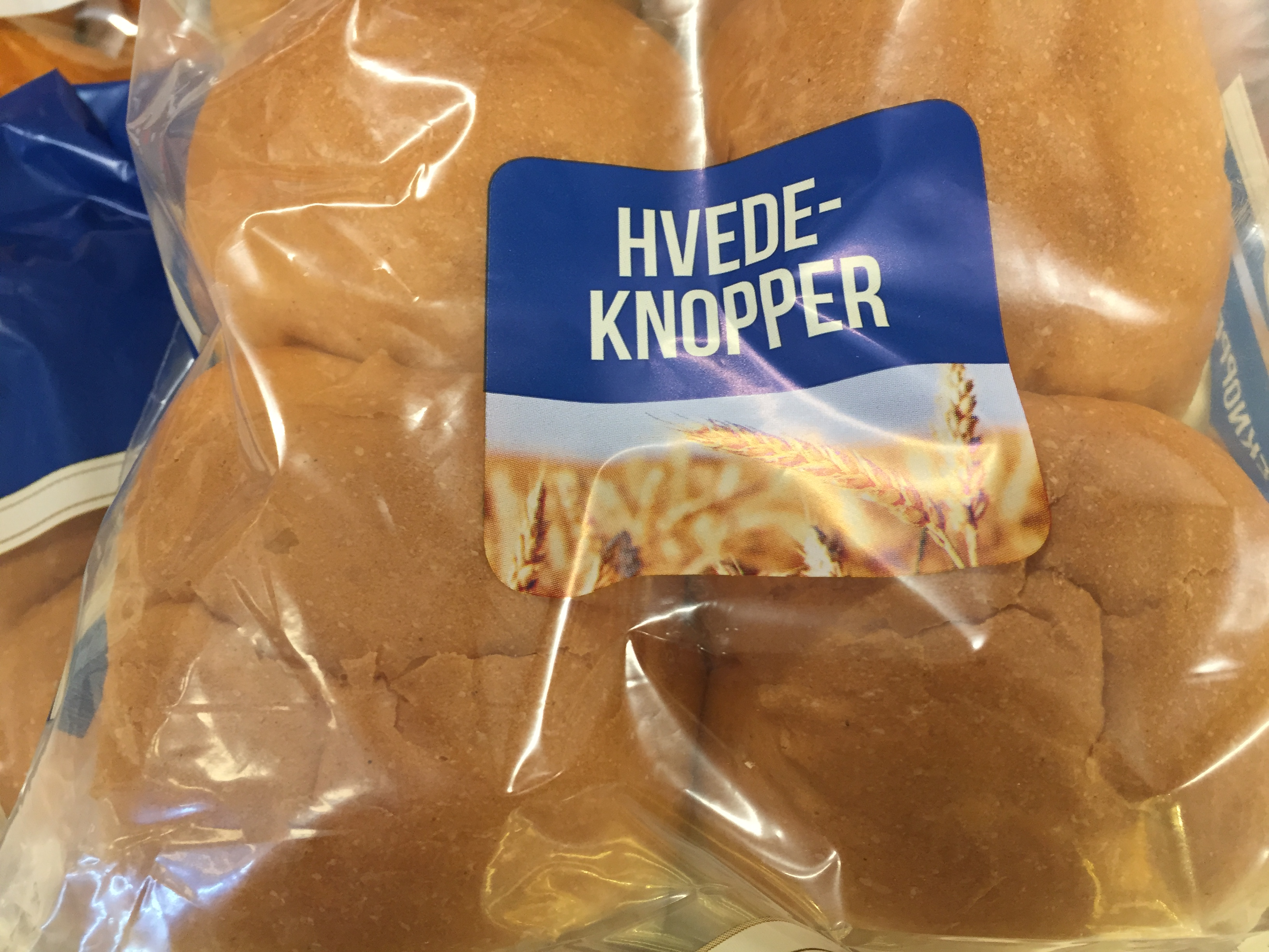 Remember To Buy Your Wheat Bun Look For Hvedeknopper Or Hveder
