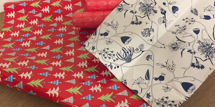 Your gift-wrapping paper is not recyclable